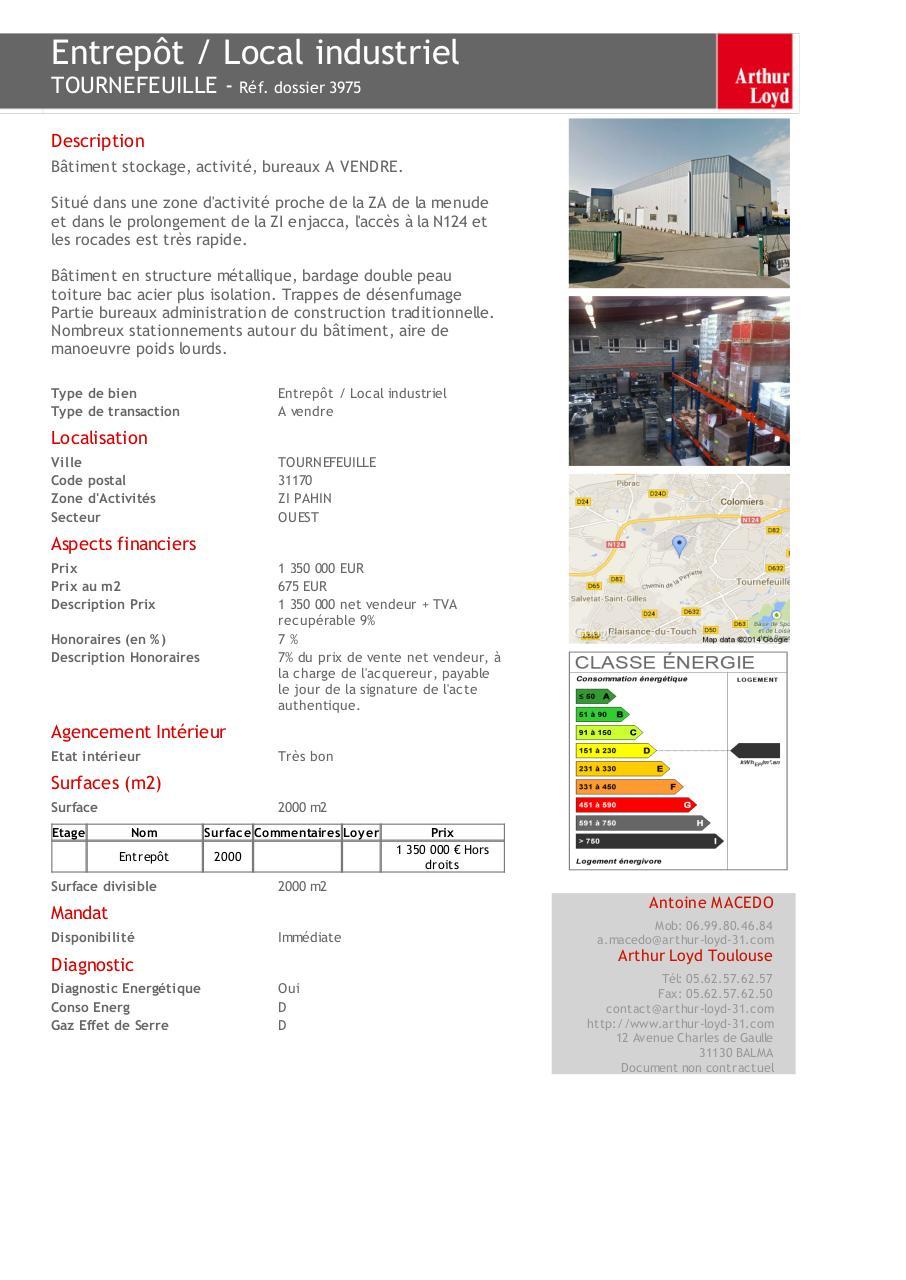 Ant fichier pdf for Prix moyen m2 construction batiment industriel