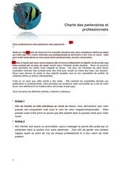 charte professionnel partenaire