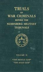nuremberg international military tribunal green series vol 2