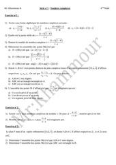 serie n 1 nombres complexes