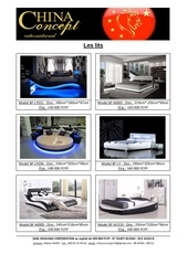 Fichier PDF catalogue des lits