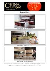 le catalogue des cuisines
