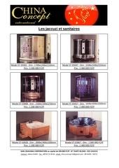 le catalogue des jaccuzi et sanitaires