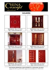 le catalogue des portes