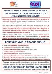 mouvement agents publics du 100414