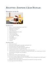 recettes surprise a jn