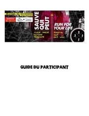 Fichier PDF sauve qui peut guide du participant