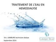 traitement de l eau en dialyse