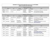 calendrier portes ouvertes 2014