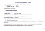 droit public recherche