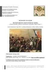 invitation bicentenaire de laffrey 2015 septembre 2015