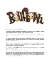regles boufbowl