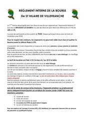 reglement interne bourse aa17
