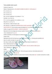 83a tuto sandales talon ouvert par gloria