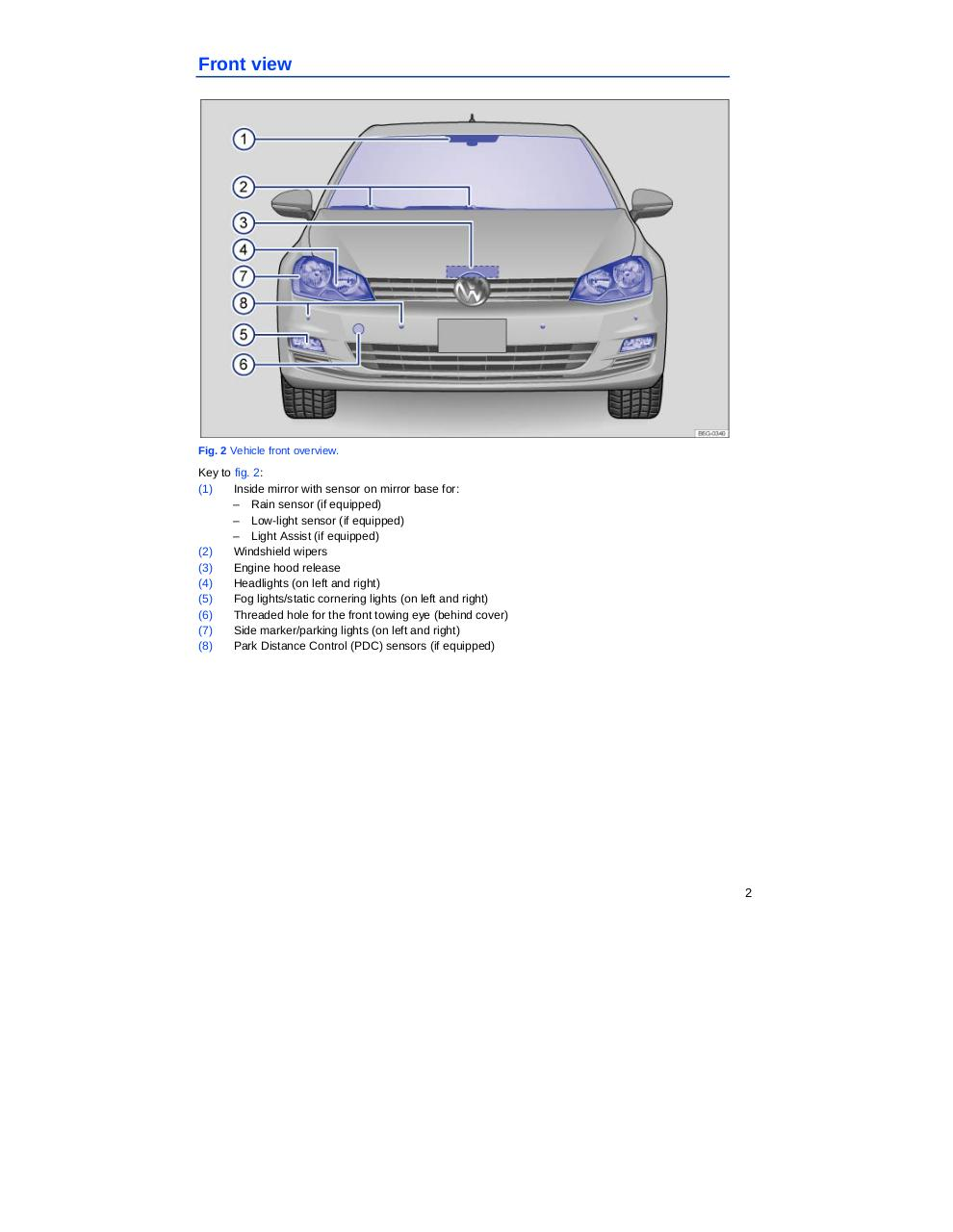Golf Mk7 2014 Owners Manual.pdf - page 2/402