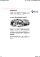 history of sipelia works sheffield