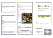 planning des animations flyer v3