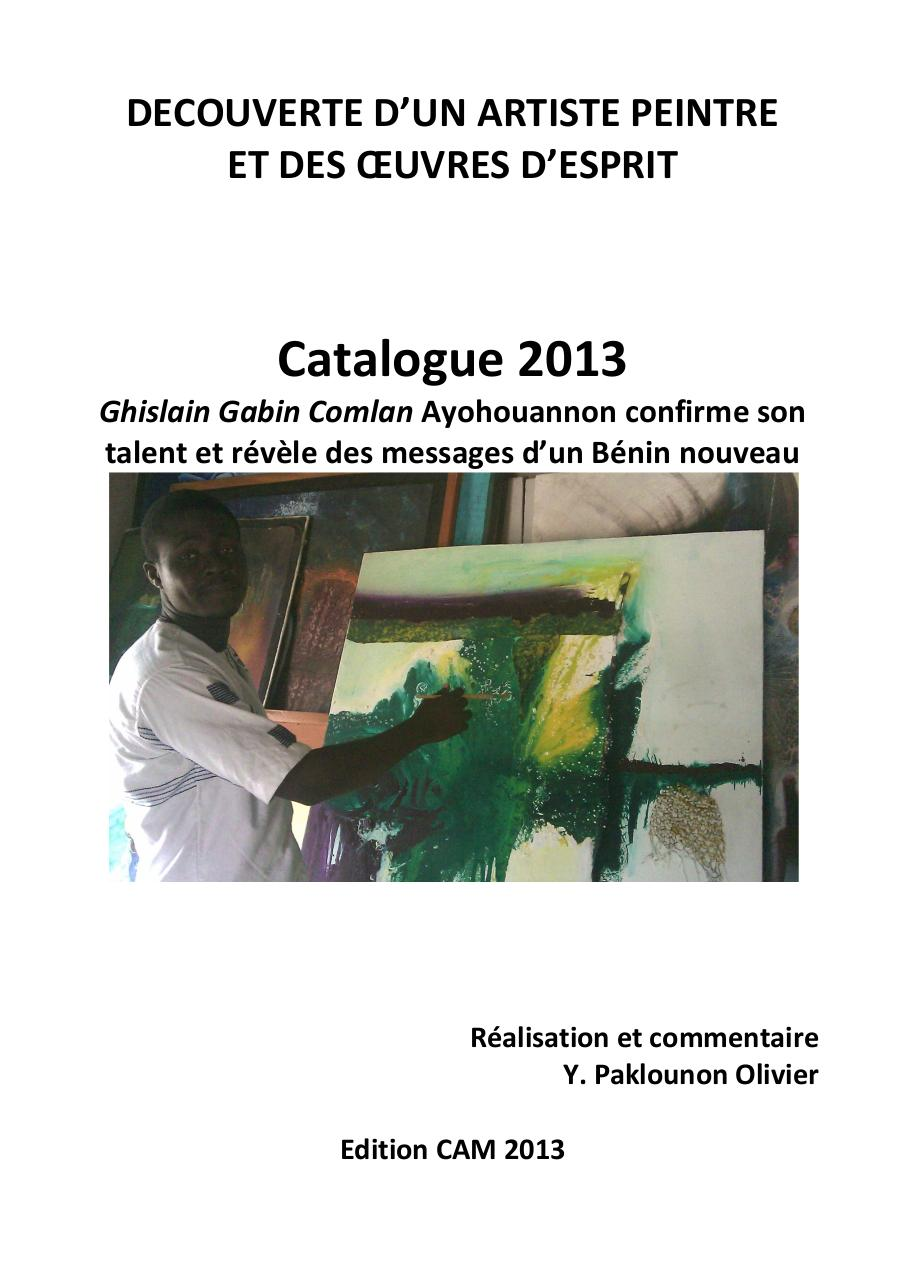 Catalogue 2013 de Gabin(1).pdf - page 1/43