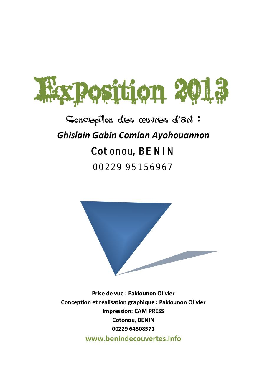 Catalogue 2013 de Gabin(1).pdf - page 3/43