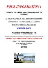 affiche info enduro carpe gurson septembre 2014