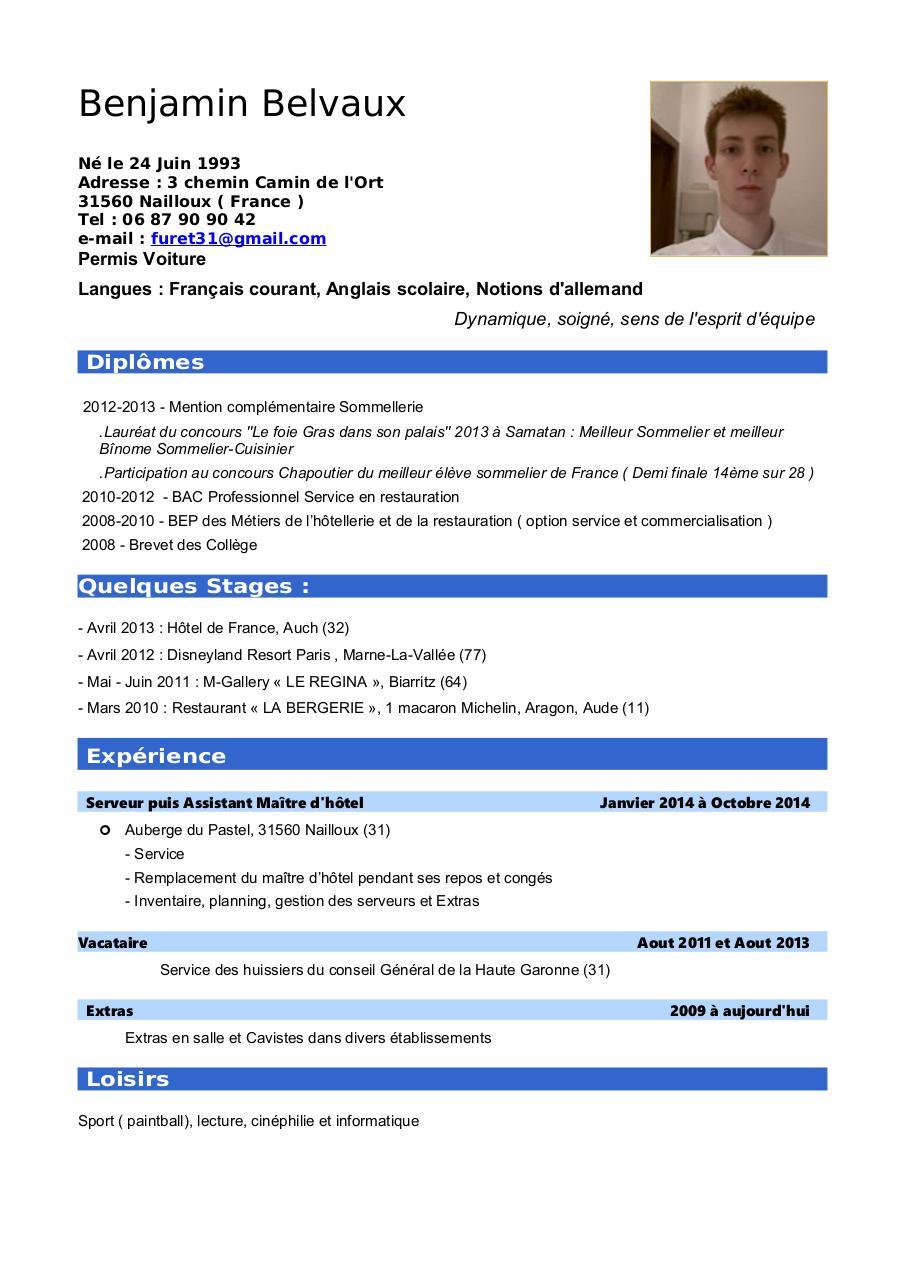 cv belvaux pdf par igor barzilai