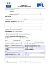 formulaire ota