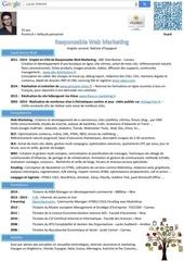 responsable web marketing