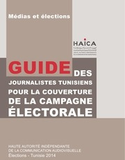 haica guide journalistes elections 2014