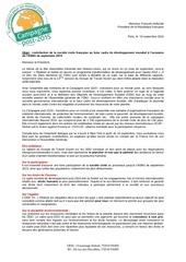 lettre hollande pour agnu 2014