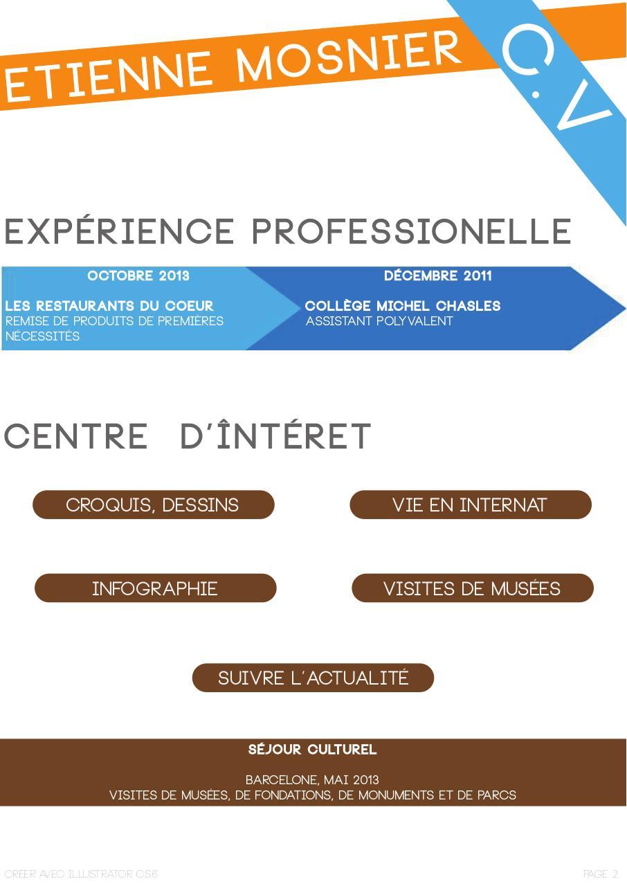 cv visiondemarques mosnier - cv mosnier pdf
