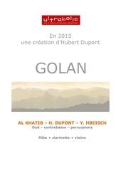 dossier presentation golan