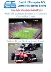 week end barcelone f1 foot 15