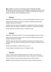 exercices informatique seance 2