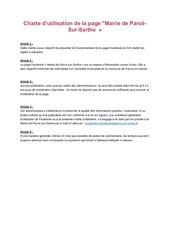 Fichier PDF charte d utilisation de la page facebook