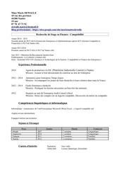 Fichier PDF cv iut3