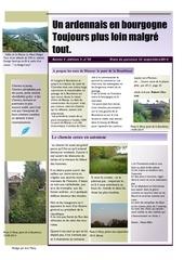 un ardennais en bourgogne journal mensuel septembre 2014
