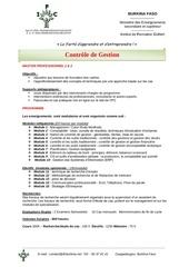programme master pro 1 et 2 controle de gestion 147