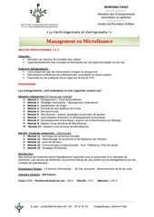 programme master pro 1 et 2 management en microfinance 150
