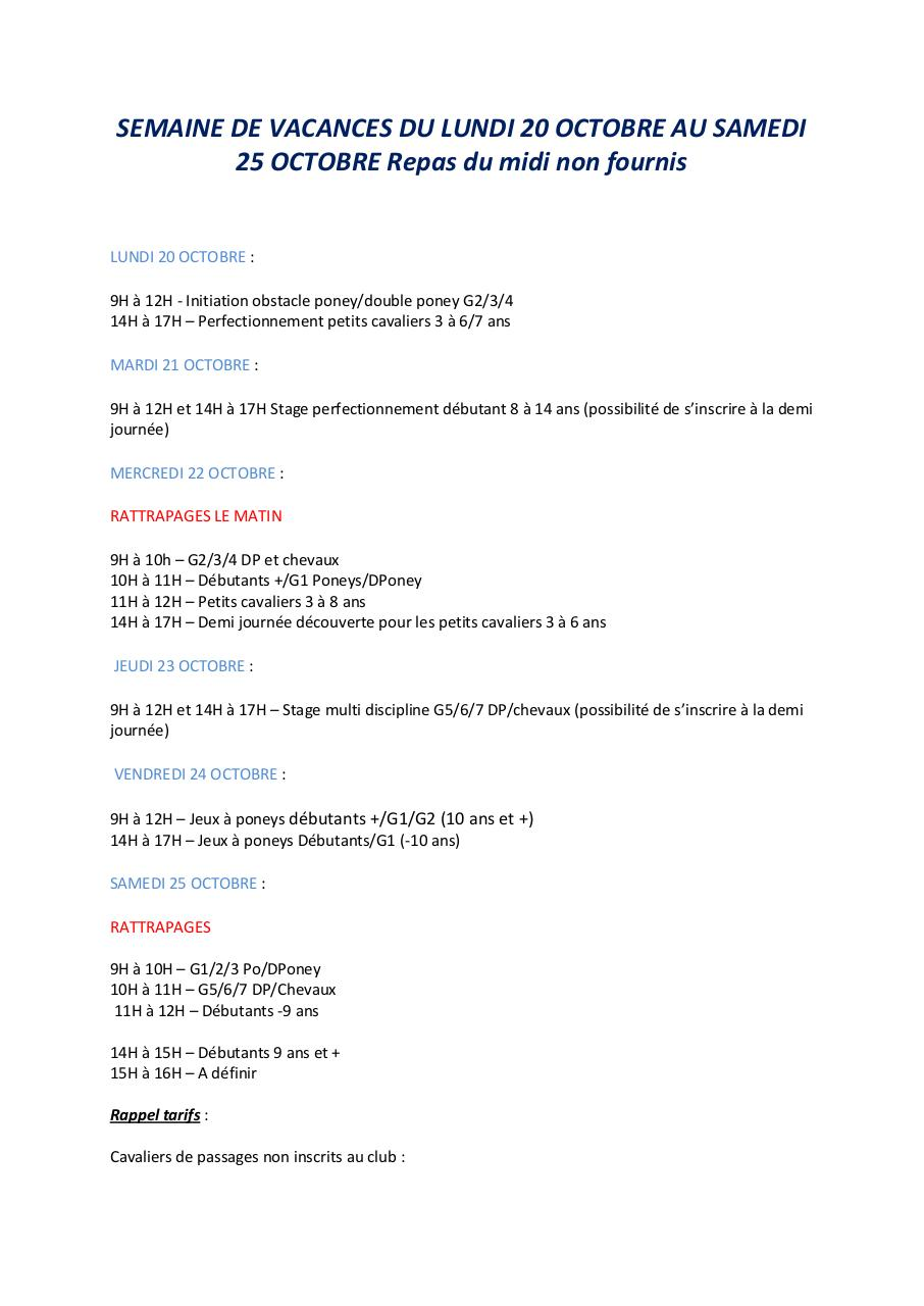 STAGES VACANCES SEMAINE 1.pdf - page 1/2