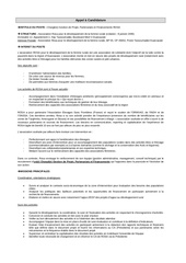 appel a candidature charge projet recherche partenariats financements rosa final