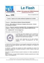 Fichier PDF flash n 106 criteres medicaux asct reunion du 22 septembre 2014