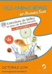 agenda des animations d octobre 2014 bugey sud
