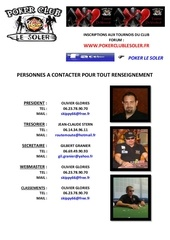 fiche contacts club saison 2014 2015
