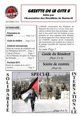 gazette oct 2014