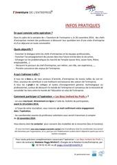 infos pratiques les boss invitent les profs 26 11 2014