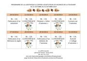 programme vacances toussaint 2014