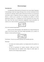 cours electrostatique1