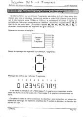 Fichier PDF karnaugh ett l aficheur esaber
