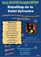 reveillon 31 decembre 2014 organise par la petanque marchiennoise copie