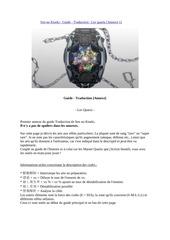 guide annexe francais sen no kiseki